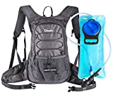 Dtown Hydration Backpack with 2L BPA Free Water Bladder, Water Backpack for Hiking, Cycling,...