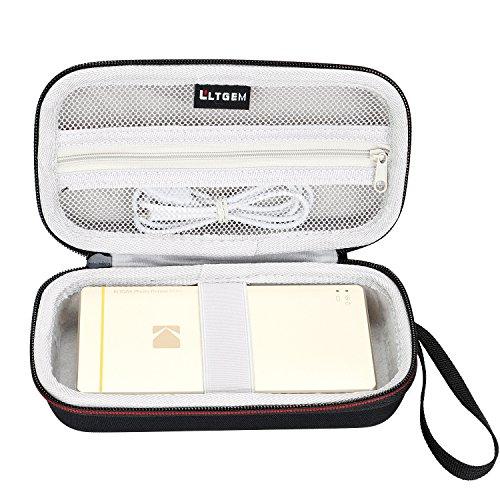 "LTGEM EVA Hard Case for Kodak Mini 2 or Kodak Mini 2 Retro 2.1x3.4"" Portable Instant Photo Printer - Black"