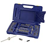 IRWIN Tap And Die Set, Machine Screw/SAE/Metric,...