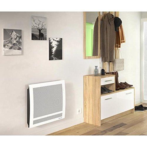 JUMPER Sundoro 1000 vatios Calentador de panel radiante - Programación LCD - Detector de presencia y apertura de ventanas