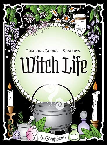 Coloring Book of Shadows Witch Life product image