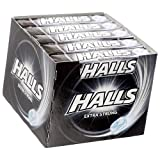 Halls Extra Strong Cough Drops - with Menthol - 180 Drops (20 Sticks of 9 Drops)