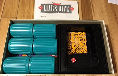 Liar's Dice by Board Games - Assorted Milton Bradley