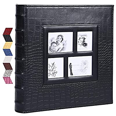 Vienrose Photo Album for 600 4x6 Photos Leather Cover Extra Large Capacity for Family Wedding Anniversary Baby Vacation