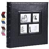 Vienrose Fotoalbum Einsteckalbum für 600 10x15 Fotos Ledereinband Extra Großes Fassungsvermögen für Familie Hochzeit Jahrestag Baby Urlaub