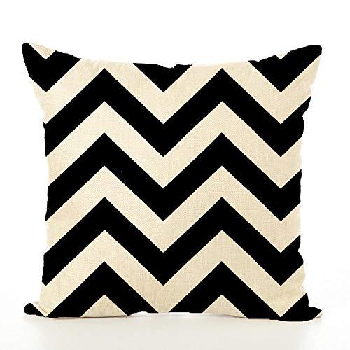 U/A 4pcs Nordic Style Pillowcase, Hemp Household Cloth Art, Retro Pillowcase For Living Room Family