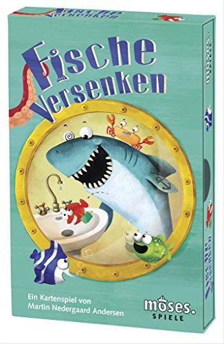 Moses 90255 Fische versenken, Kartenspiel für Kinder ab 6 Jahren