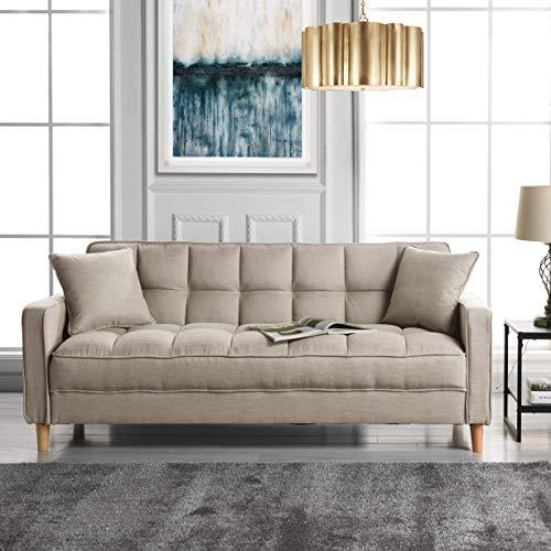 Divano Roma Furniture Modern Sofas, Beige