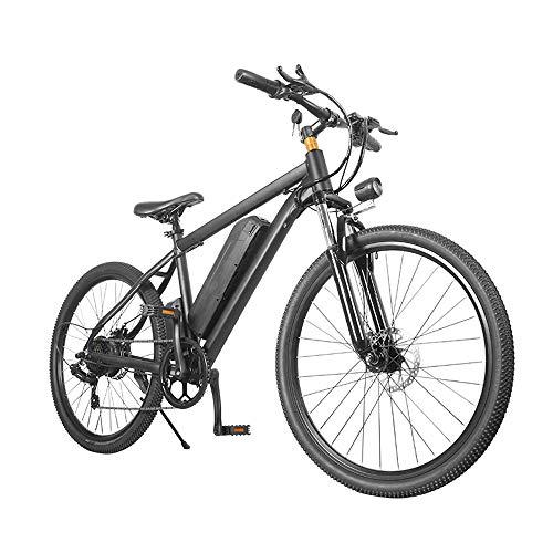Bicicletta Elettrica da Montagna MTB Elettrica da Uomo E-bike Mountain Bike Elettrica Assistita 7 velocità 26 Pollice 350W 25KM/H
