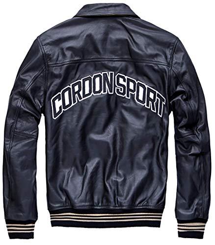 Cordon Sport Lederjacke schwarz 3XL