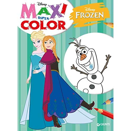 Frozen. Maxi supercolor