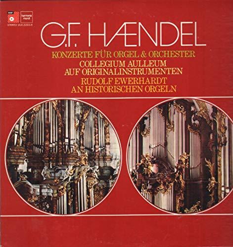 G.f. Handel - Konzerte Für Orgel & Orchester