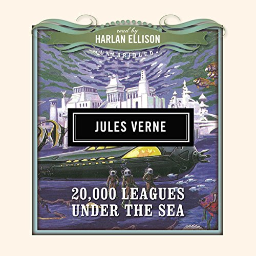 Twenty Thousand Leagues Under the Sea                   Written by:                                                                                                                                 Jules Verne,                                                                                        Dove Audio - producer                               Narrated by:                                                                                                                                 Harlan Ellison                      Length: 5 hrs and 33 mins     Not rated yet     Overall 0.0