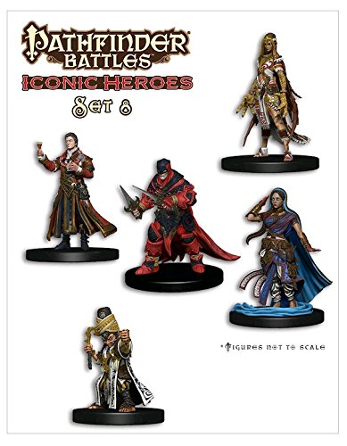 WizKids Pathfinder Battles Minis: Iconic Heroes Box Set 8