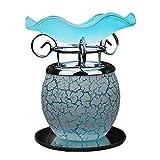 Zytyek Lámpara de Mesa Azul Aceite Esencial difusor de Aroma Lámparas Esencial Tabla lámpara de Aceite Creativo Plug In Atenuación aromaterapia vaporizador de la máquina, de Noche purificador de Aire