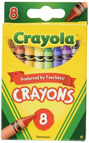 Crayola Crayons,8 Count (3 Pack), Pack of 3, 3 Piece
