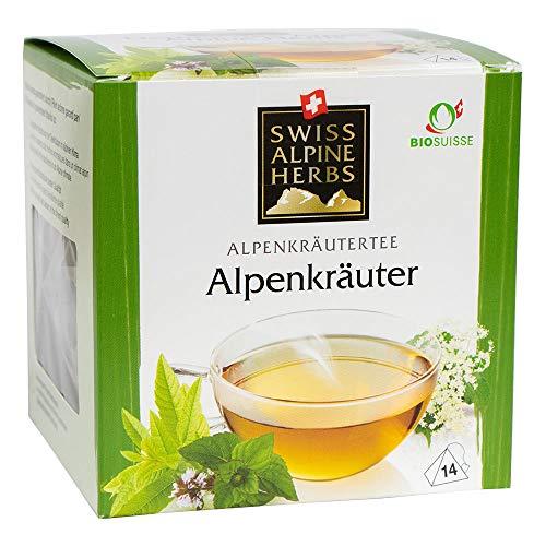 Bio Tee Alpenkräuter 6x14 Pyramidenbeutel
