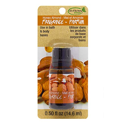 Life of the Party Honey Almond Fragrance Scents.50 fl. oz, Dark