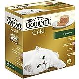 Purina Gourmet Gold - Terrine, 1 Paquete Surtido de 8 x 85 gr - Total: 680 gr