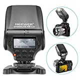 Neewer NW320 Mini TTL Speedlite Flash Automatique Flash Compatible avec Sony Appareil Photo MI DSLR et Mirrorless A6000 A6300 A6500 A7 A7II A7RII A7RIII A7III NEX6 A7SII A7R A7S