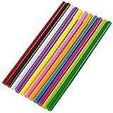 Ewparts Colore colla stick 11 mm di diametro, 11 colori, confezione da 11