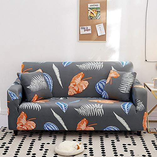 Fundas de Sofa Elasticas Fácil de Usar con funda de almohada,funda de sofá seccionales para 1/2/3/4 plazas,funda para sofá grises para sala de estar,funda protectora suave para muebles para perros(