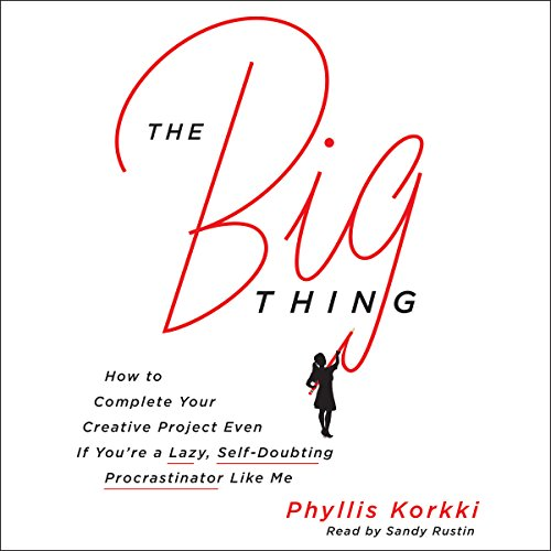 The Big Thing audiobook cover art
