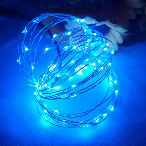xjzjy led string lights outdoor copper pole lights christmas tree wedding decoration holiday wreath fairy tale lighting (??)