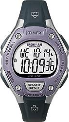 top rated Timex Ladies Iron Man 30 Circle Digital Quartz Medium Watch Gray / Lilac – T5K410 2021