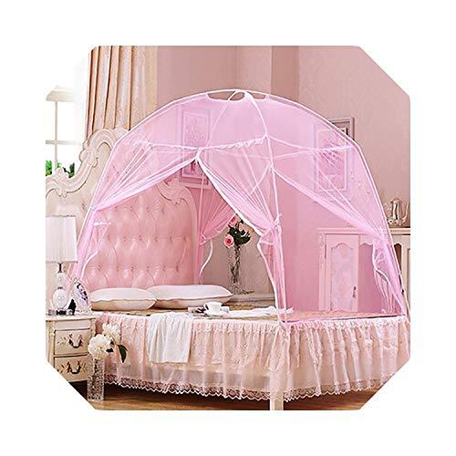 Netz für Zwilling | 5 Sommer Moskitonetze Baby Erwachsene Bettwäsche Zelt Etagenbett Moskitonetze Erwachsene Doppelbett Zelt Net-Black-150x200cm