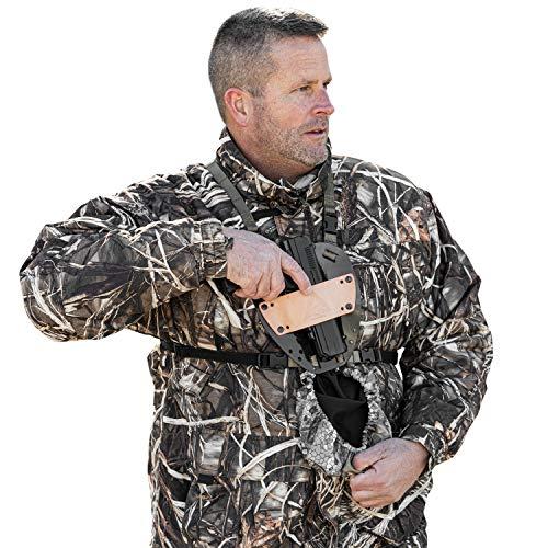 Slicker Pistol Universal Pistol Holster with Chest and Leg...