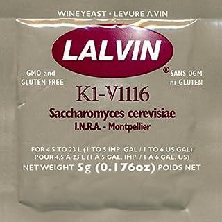 Lalvin K1V-1116 Wine Yeast, 5 grams - 10-Pack by Lalvin