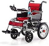 Sillas de ruedas eléctricas para adultos Silla de ruedas eléctrica accionada...