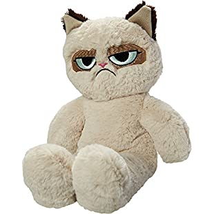 Rosewood Pet Products Grumpy Cat Floppy Plush Dog Toy