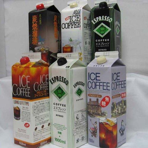 【gift】アイスコーヒー(6本入り)ギフト 加糖セット