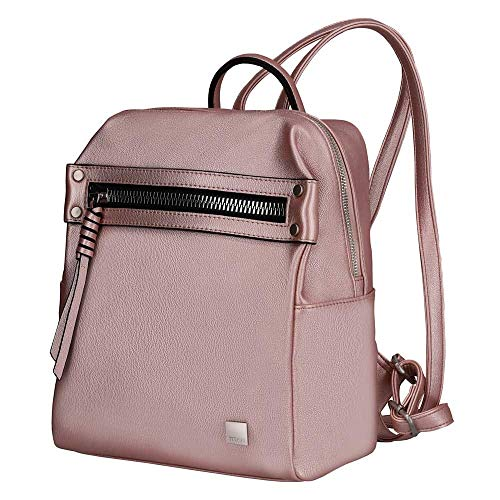 Titan Spotlight Zip Rucksack 30 cm metallic pink