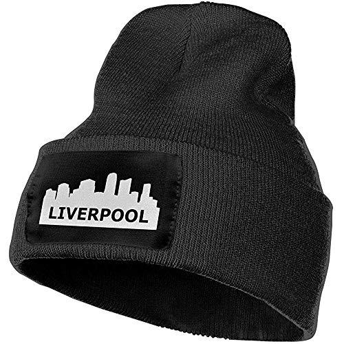 Preisvergleich Produktbild Quintion Robeson Unisex Liverpool Skyline Outdoor Mode Strickmützen Mütze Weiche Winter Strickmützen