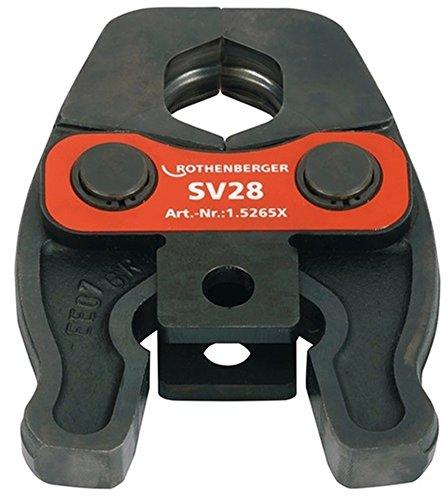 Mâchoire pour sertisseuse Romax Compact profil SV22 015264X ROTHENBERGER