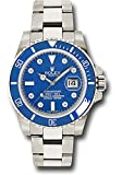 Rolex Oyster Perpetual 40MM 18k White Gold Submariner Review