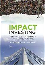 jed emerson impact investing
