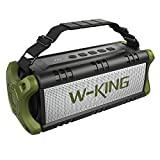 W-KING [4000mAh] 40W Bluetooth Speaker with 24-Hour Playtime, IPX5 Rugged Waterproof Portable Wireless