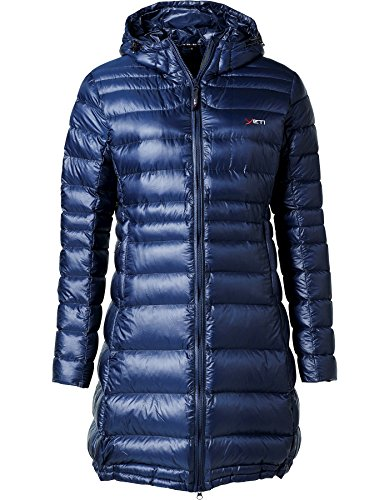 YETI Faith W's Lightweight Down Coat Damen Daunenmantel Mantel, Mood Indigo, Größe XL