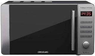 comprar comparacion Cecotec Microondas ProClean 5010. Capacidad de 20l, Revestimiento Ready2Clean, 700 W en 5 niveles de potencia, 5 Niveles F...