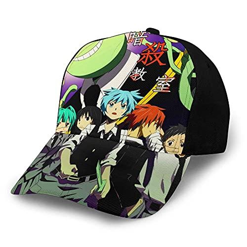 Assassination Classroom Koro Sensei Nagisa Karuma Dibujos Animados Anime Gorra de béisbol clásica Sombrero de Moda Informal Sombrero de Camionero Sombrero de papá Sombrero para el Sol Unisex