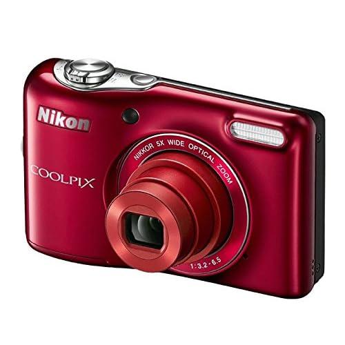 Nikon COOLPIX L32 Digital Camera with 5x Wide-Angle NIKKOR Zoom Lens