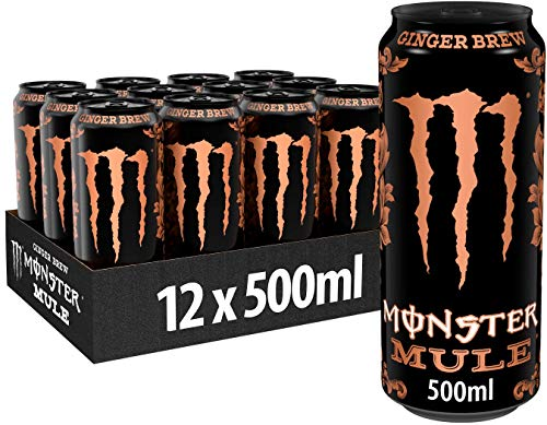 Monster Energy Mule Ginger Brew, 12er Pack (12 x 500 ml)