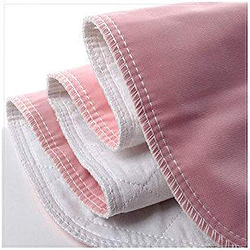 Reusable Bed Underpad - Machine Washable & Dryable, Waterproof, Extra-Absorbent, Personal Care & Hospital Rated Under Pad (Pink, 17x24)