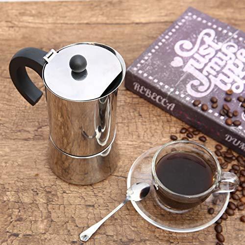 Godmorn Cafetera italiana,Cafetera espressos en Acero ...