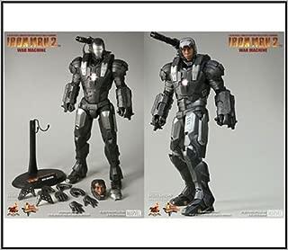Hot Toys Iron Man 2 Movie Masterpiece War Machine Collectible Figure