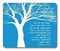 Smooffly Gaming Mouse Pad Custom,Christian Theme - Bible Verse Isaiah 41:10 Mouse pad 9.5 X 7.9 Inch (240mmX200mmX3mm) [並行輸入品]